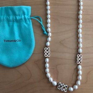 🖤Tiffany&Co Paloma Picasso Celtic Pearl Necklace